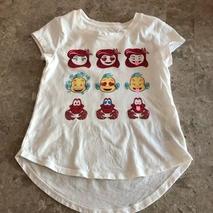 GAP Disney Little Mermaid tee